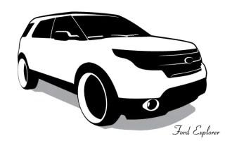 Ford Explorer Vector