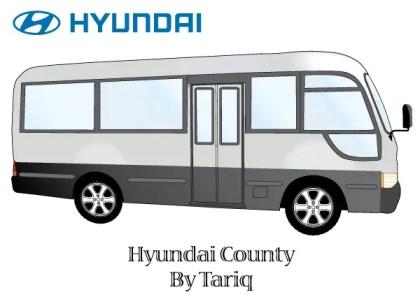 Hyundai County Bus