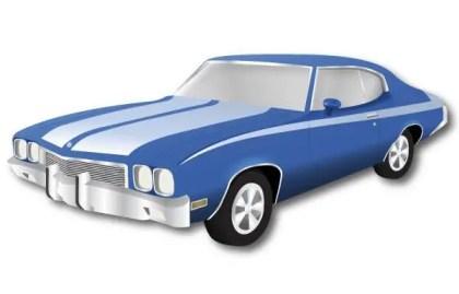 Buick Skylark Car Vector Image