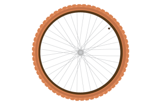 Free Vector Bike Tire