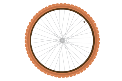 Free Vector Bike Tire