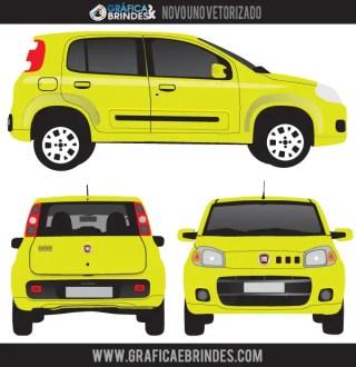 Fiat Uno Vector Image