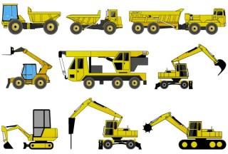 Free Construction Machines Illustrator Pack 2