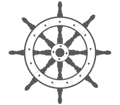 Ship Steering Wheel Free Vector