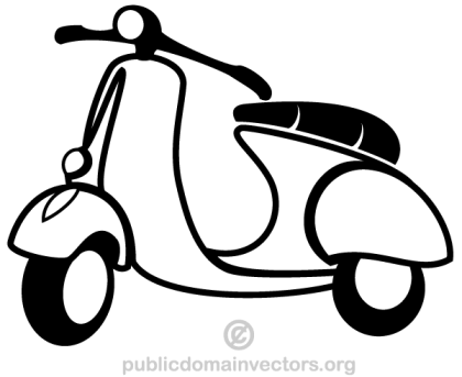 Vector Scooter Image