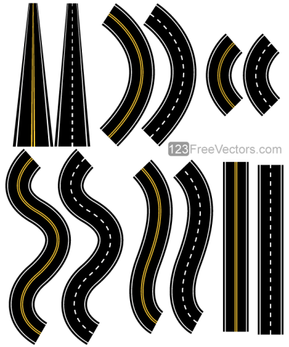 Roads Vector Pack