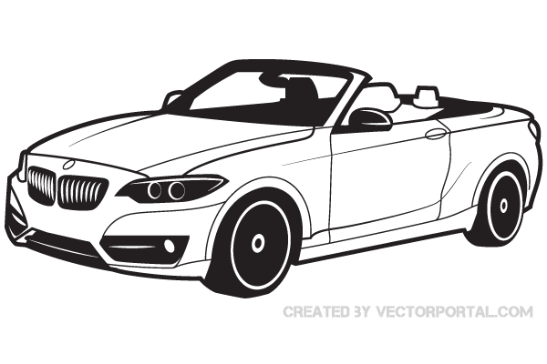 bmw car vector art 123freevectors rh 123freevectors com car vector free car vector plan