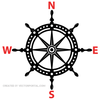 Helm Wheel Vector