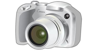 Free Camera Vector Art