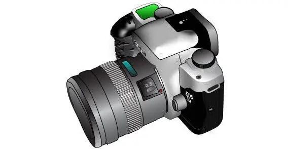 Free Camera Vector Image
