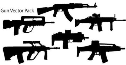 Guns Vector Pack