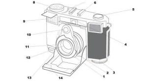 Old Contessa Camera Vector