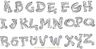 Alphabet Vectors Free Download