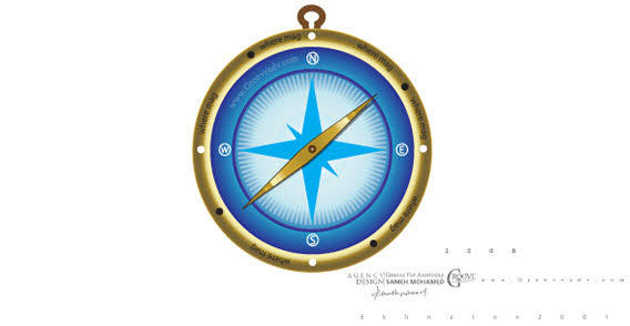Compass Vector Art