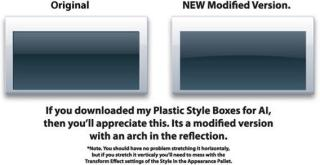 Free Vector Plastic Style Boxes