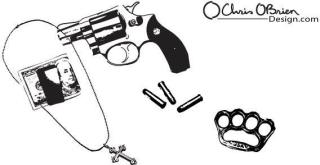 Free Gun Vector Art