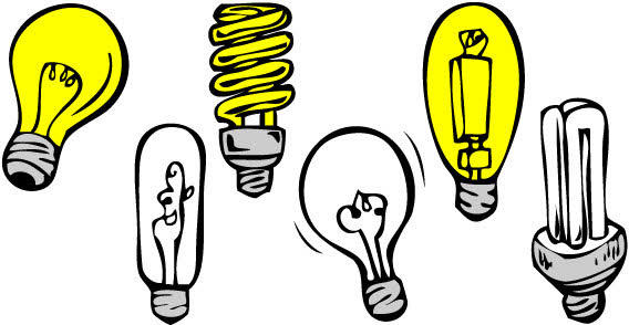 Light Bulb Vector Illustrator