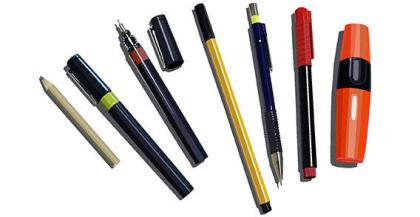 Pens, Pencils & Markers Free Vector
