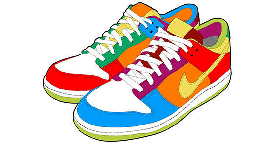 Sneaker Vector Free