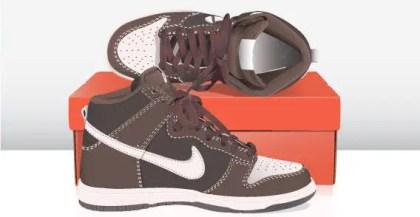 Sneaker Free Vector Art Images