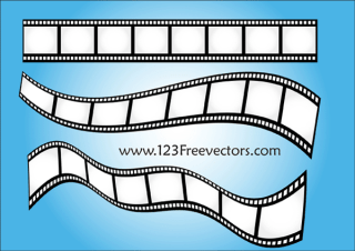 Film Strip Vector Art