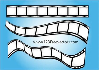 Film Strip Vector Art