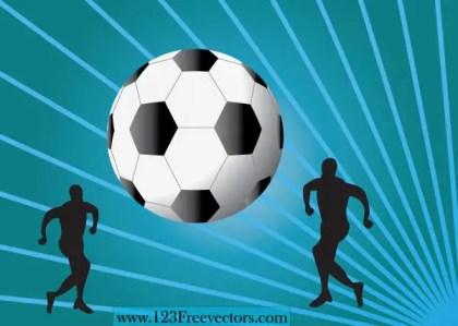 Football Wallpaper Vector