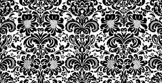 Vintage Floral Wallpapers Vectors