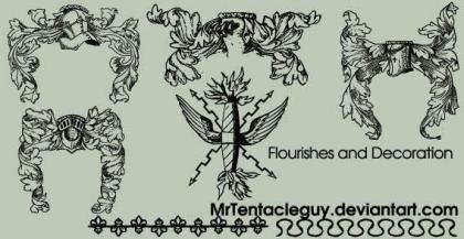 Flourishes and Decoration Vector