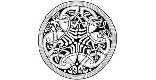 Circle Celtic Ornament Free Vector