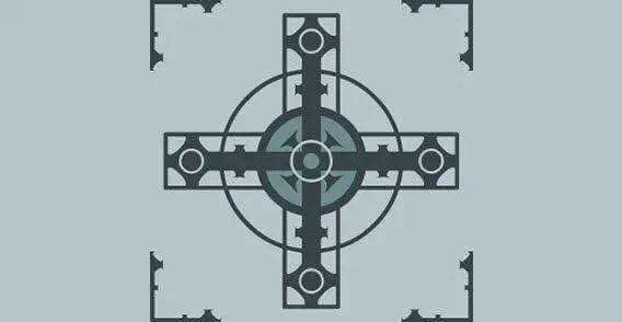 Free Download Vector Cross