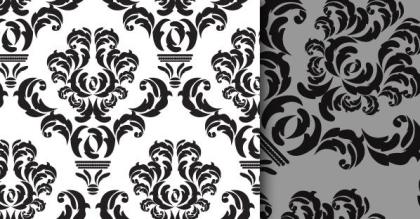 Free Damask Pattern Vector