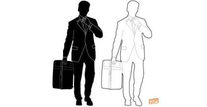 Businessman Silhouette Free Vector