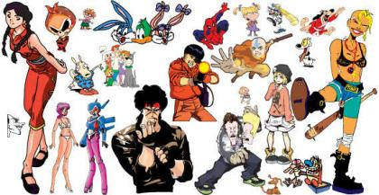 Free Vector Cartoon Characters