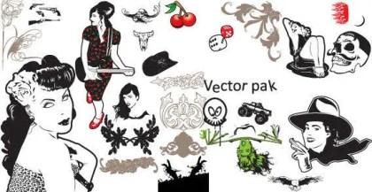 Free People Vector Pack