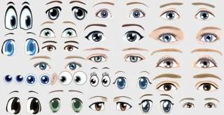 Free Vector Eyes