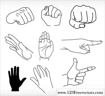 Hands Free Vector Graphics