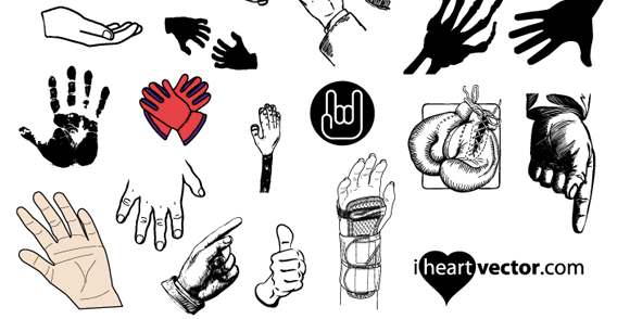 Hands Free Vector Pack