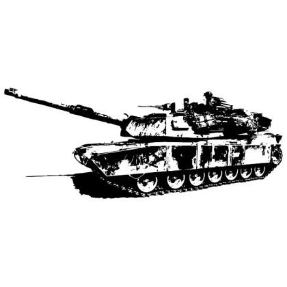 Abrams Tank Free Vector