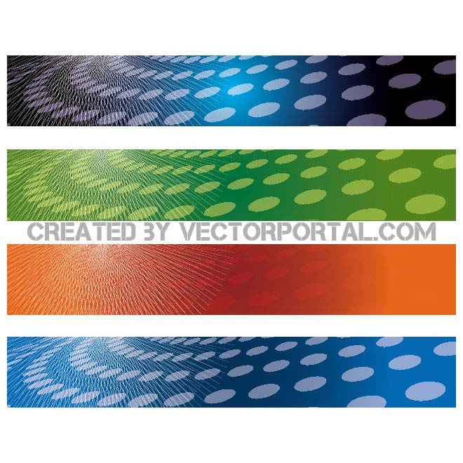 Abstract Banner Backgrounds Free Vector