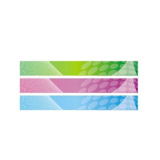 Abstract Banner Backgrounds with Dot Pattern Free Vector