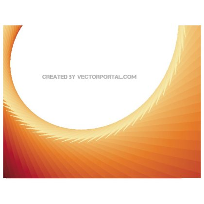 Abstract Red Orange Background Free Vector