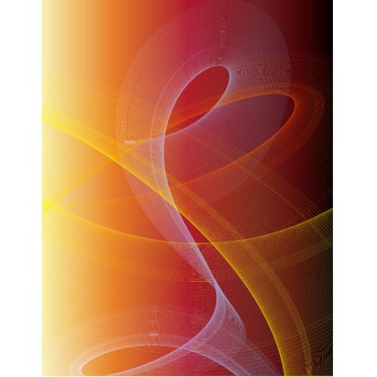 Abstract Swooshes Background Free Vector
