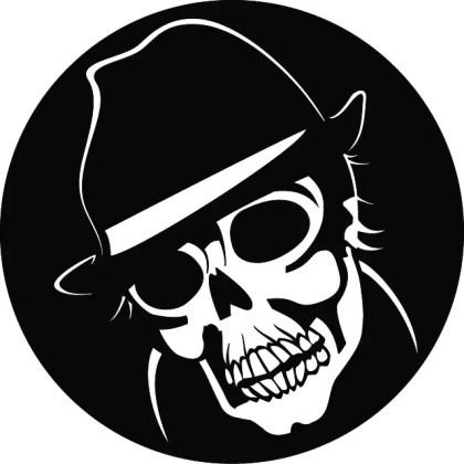 Agent Skull Free Vector