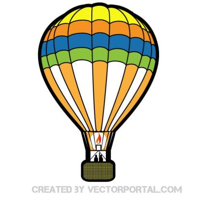 Air Balloon Image Free Vector