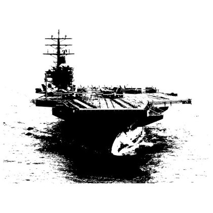 Aircraft Carrier Free Vector