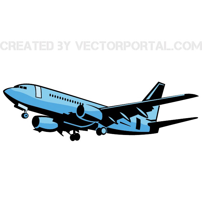 Airplane Image Free Vector