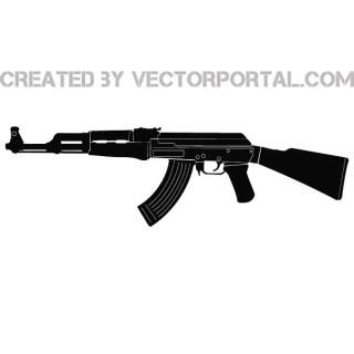 Ak-47 Free Vector