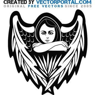 Angel Stock Free Vector