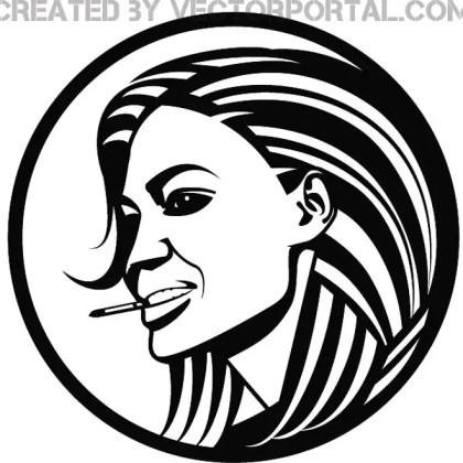 Angelina Jolie Illustration Free Vector